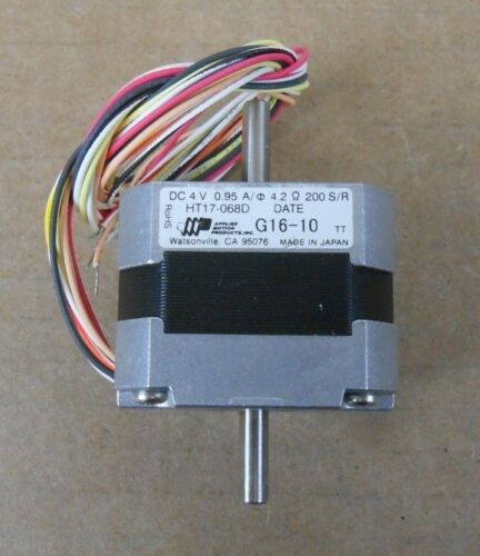 NEW APPLIED MOTION PRODUCTS HT17-068D HT17068D STEPPER MOTOR 1.8 DEG (16 AVAIL)