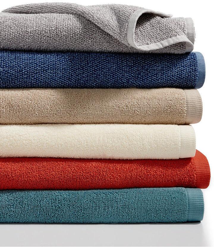 "Baltic Chelsea Home Zero Twist 3 Bath Towels Set Orange  30"""
