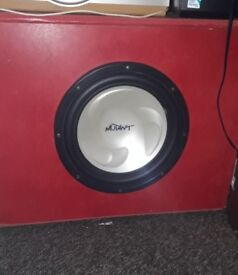 700 Watts Mutant subwoofer bargain for price