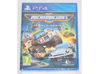 SONY PLAYSTATION PS4 GAME MICRO MACHINES WORLD SERIES CODEMASTERS PAL BNIB RACE*