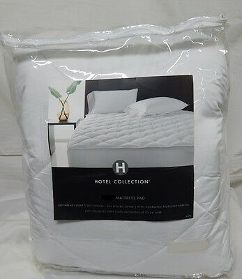 Hotel Collection 500 Thread Count Cotton Mattress Pad CAL KING California King Cotton Mattress