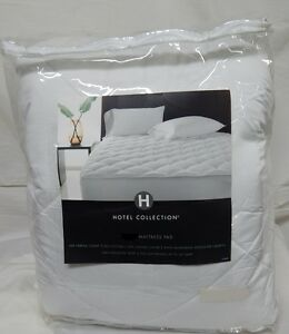 Hotel Collection 500 Thread Count Mattress Pad QUEEN