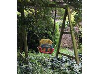 garden swing -