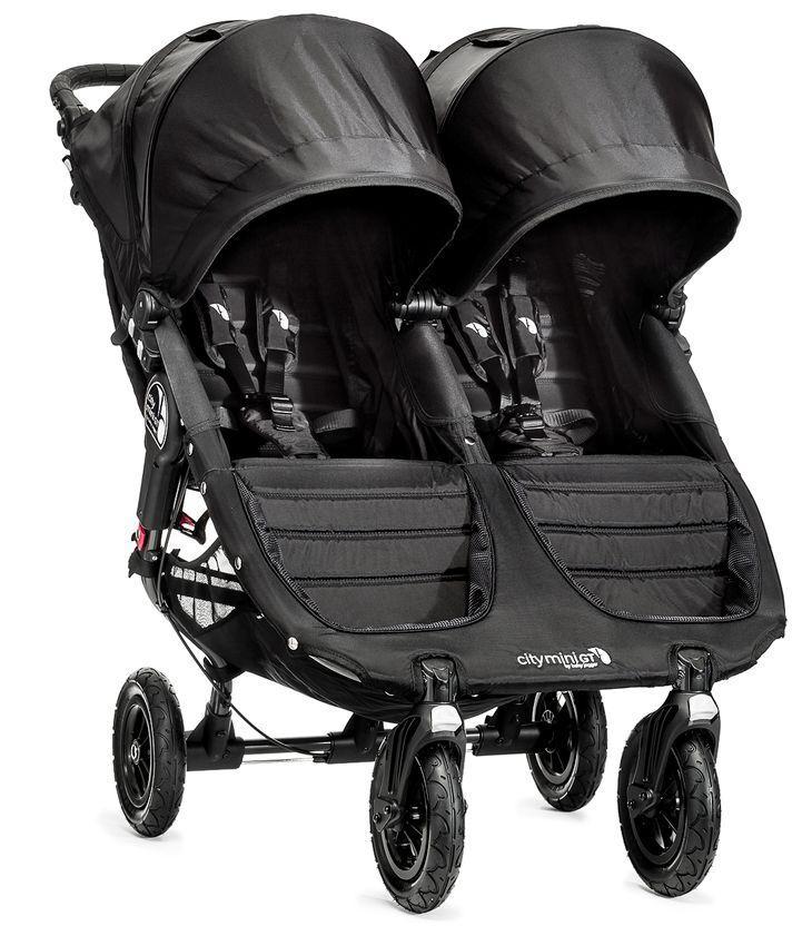 Baby Jogger City Mini GT Double Twin All Terrain Stroller Bl