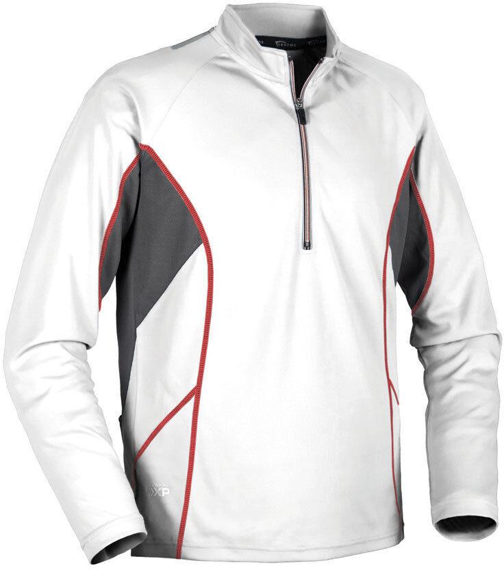 Serfas Mens Venturi Jersey Medium M White Long Sleeve MTB Ro