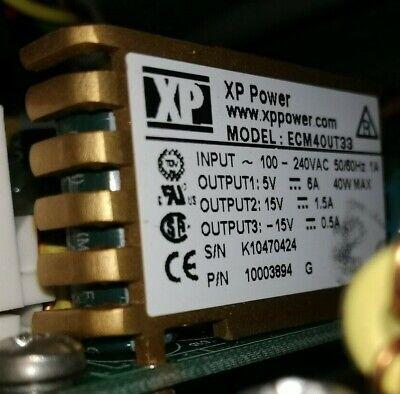 Xp Power Ecm40ut33 Power Supply For Teledyne Nox Analyser Model T-200 Api T200
