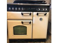 Rangmaster Classic 90 Cooker Dual Fuel Cream Cooker