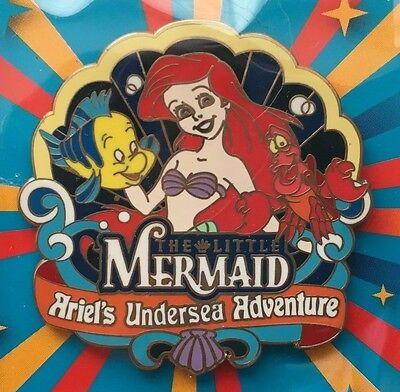 Disney Pin - DCA - The Little Mermaid - Ariel's Undersea Adventure - Promo Pin