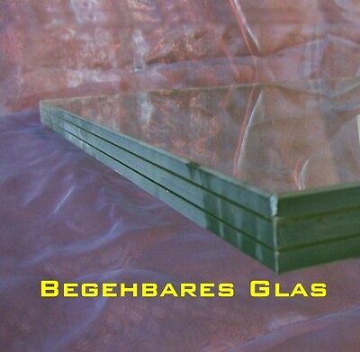 begehbares Glas im Zuschnitt nach Mass