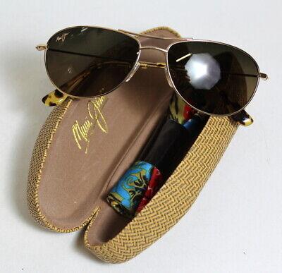 Maui Jim Baby Beach Polarized Aviator Sunglasses 56-18-120 Free (Baby Aviators Sunglasses)