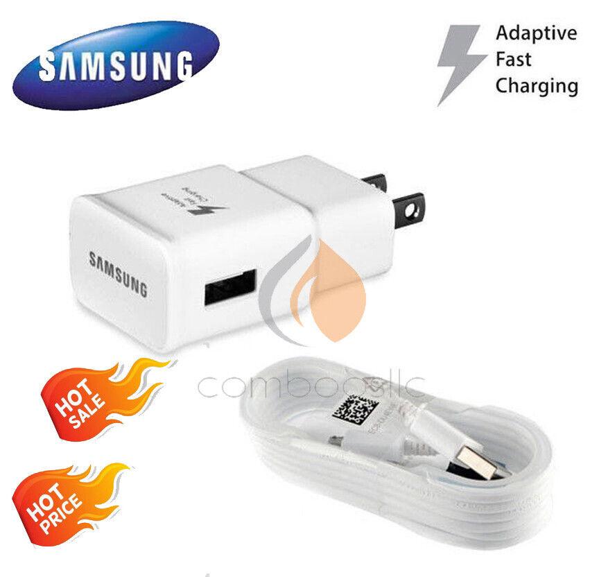 OEM Samsung Galaxy S6 S7 Note 4 5 Fast Charging USB Wall Cha