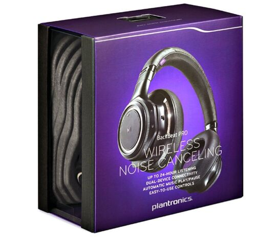 $249.99 -  Plantronics BackBeat PRO Wireless Noise Canceling BLUETOOTH Headphones With Mic