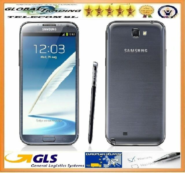 SAMSUNG GALAXY NOTE 2 N7100  ORIGINAL 16GB GREY TITANIUM FREE NEW