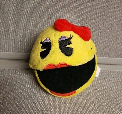 "Ms. Pac-Man Plush  5"" Stuffed Toy BANDAI NAMCO"