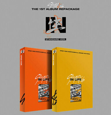 STRAY KIDS IN生/IN LIFE Repackage Album STANDARD RANDOM CD+P.Book+3 Card+PreOrder