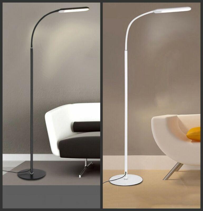 LED Floor Lamp Adjustable Standing Light Gooseneck Dimmer Of