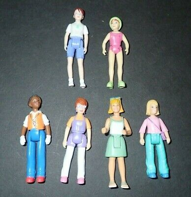Sweet Streets Family Fisher Price Vintage  Lot Dolls People Women Career