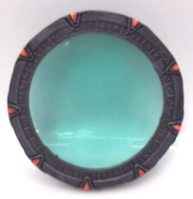 "Stargate SG-1 Replica Stargate 4.5"" with Plastic Stand-Out of Production (SG1)"