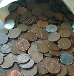 5000 Unsearched Wheat Pennies From Auction In Ohio