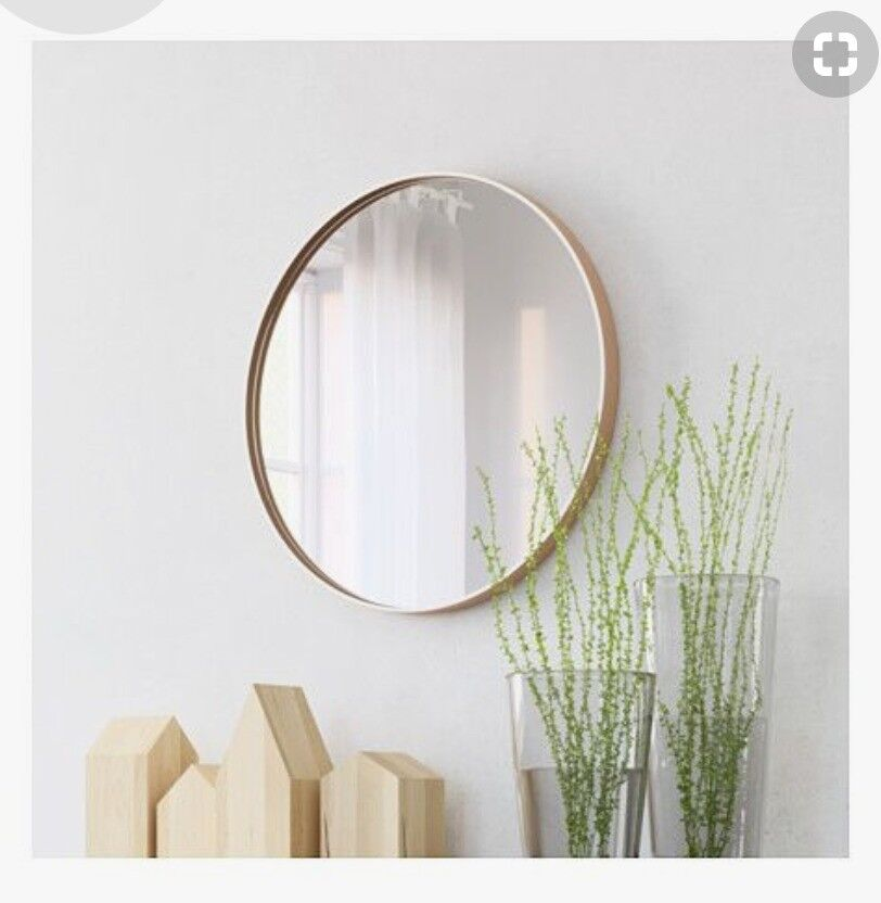 Ikea Anes Mirror Discontinued Large Round Mirror 106cm