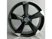 "19"" AUDI TTRS STYLE ALLOY WHEELS BRAND NEW IN BOXES"