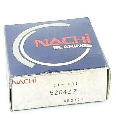 Nib Nachi 5204zz Ball Bearing 20 X 47 X 20.6