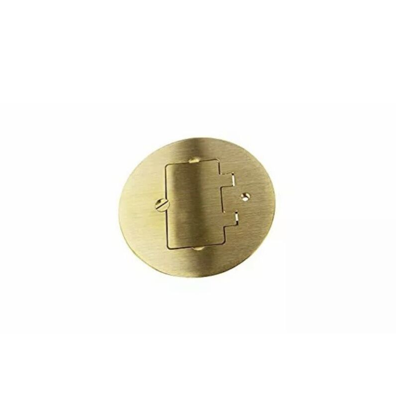 NOS Wiremold Brass Cover Plate #895GFI