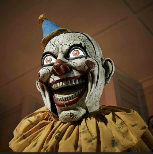 6 FT. ANIMATED LED JACK-IN-THE-BOX | PENNYWISE | HALLOWEEN | SCARY CLOWN