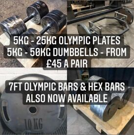 """Weight plates custom made - 2"""" or 1"""" holes"""