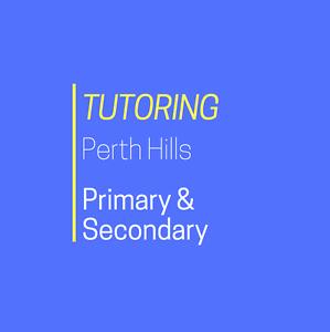 Primary and Secondary School Tutoring Darlington Mundaring Area Preview
