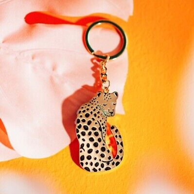 Sass and Belle Leopard Love Keyring
