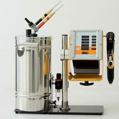 Hq Digital Display Powder Coating Machine Spray Gun With Ss 304 Min Hopper