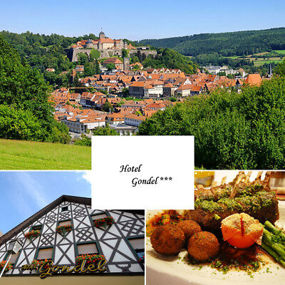 Wellness Urlaub in Bayern Oberfranken Hotel Gondel Halbpension Kurzreise