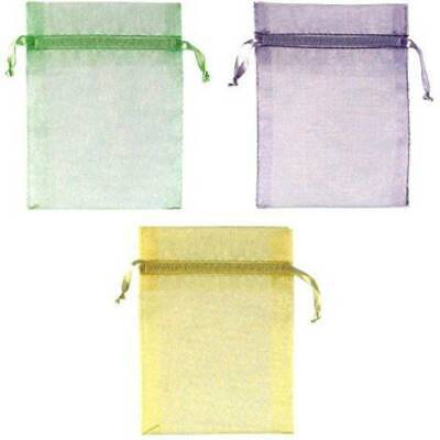 Organza Bags with Pull String Light Green Purple Wedding Shower Party Supplies  - Wedding Shower Party Supplies