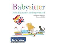 Experienced Babysitter - DBS Check - Ad Hoc - Montpelier, Redland, Cothan, Clifton Areas