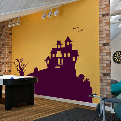 I75 Wall Decal Sticker Design City Castle horrors Halloween monsters - I City Halloween