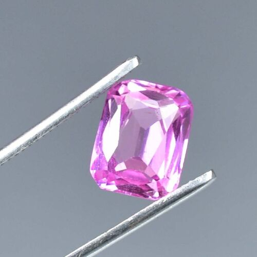AAA+ 6.45 Ct Excellent Quality Natural Pink Morganite Loose gemstone Certified