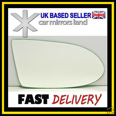 Right Driver Wing Mirror Glass CONVEX Vauxhall Zafira A 1999 2005