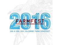 1x Farmfestival weekend ticket 2016 £50