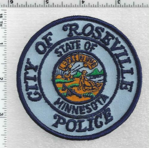 Roseville Police (Minnesota) 2nd Issue Shoulder Patch