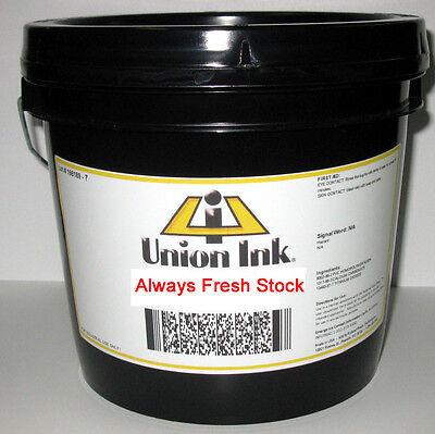 Union Ink- Athletic Plastisol- Durable Athletic Ink- Quart- Black Pate8000q