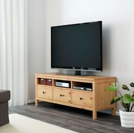 Ikea Hemnes Wooden TV Bench (matching bookcase also available)