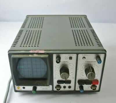 Vintage Hameg Oscilloscope Hm 307 For Parts Repair - Powers On