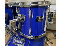 Fully Refurbished Pearl Export Drum Kit - Free Local Delivery
