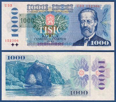 TSCHECHISCHE REPUBLIK / CZECH 1000 Korun (1993) UNC  P.3 b