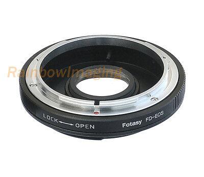 Canon FD Lens to Canon EOS Camera Adapter 700D 650D 600D 550D 500D 450D 70D