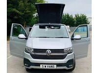 21plate Volkswagen TRANSPORTER, VW, campervan, Pop top, 4 berth, 37miles, New Conversion,