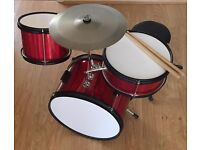 Children's First Drum Kit. Nice Quality £20 Pick up from Leeds, LS16 (Bramhope)