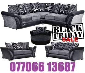 Brand Black Friday corner or 3+2 sofa fast delivery
