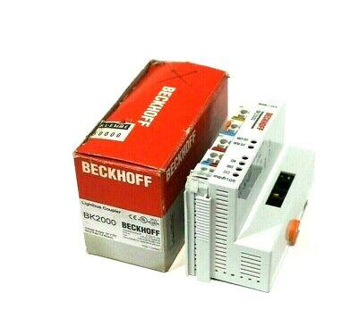 New Beckhoff Bk2000 Lightbus Coupler